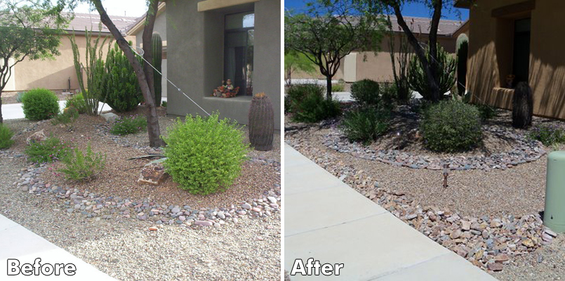 Before And After Pictures Desert Landscaping 31